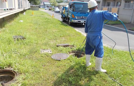 排水管清掃①
