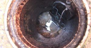排水管清掃とカニ漁解禁